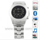 W950 Quad Band Watch Phone with Bluetooth Watch Mobile Phone Supporting 1.3 MP Camera Touch Screen W