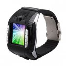 Cheap Tri-band Watch Phone with 1.33 inch TFT Touch Screen +Video Camera Voice Dialing and Stereo Bl