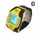 Olympic 2008 F3 Watch Phone With Bluetooth & Camera Watch Mobile Phone - Yellow