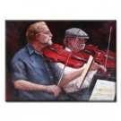 Handmade People Oil Painting on Canvas - Musician 24 inch x 20 inch