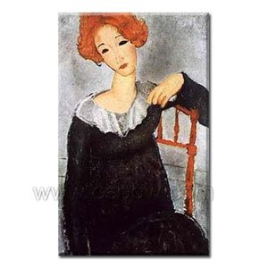 Famous Oil Painting 24 inch x 20 inch Amadeo Modigliani