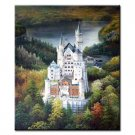 36 inch x 48 inch Handmade Real Oil Painting The Castle