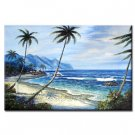 Handmade Oil Painting - Beautiful Sea - 30 inch x 40 inch