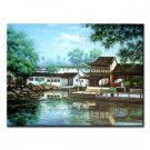 Handmade Oil Painting - Chinese Landscape - 30 inch x 40 inch