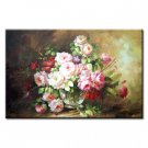 36 inch x 48 inch Handmade Real Oil Painting Blooming Bud