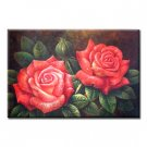 Handmade Oil Painting - Rose - 30 inch x 40 inch