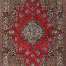 3'x5'Small Red Hand Knotted Kerman Silk Area Rug/Carpet