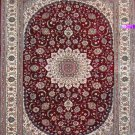 4'x6'Red Hand Knotted Persian Oriental Silk Area Rug/Carpet O1