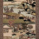 2'x3'Beige Hand Knotted Chinese Ancient Times Silk Area Rug/Tapestry 27