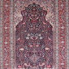 2'x3'Small Red Hand Knotted Hereke Oriental Silk Area Rug/Carpet