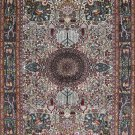 2'x3'Hand Knotted Traditional Chinese Silk Area Rug/Carpet 7