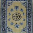 6'x9' Plum Hand Knotted Traditional Chinese Silk Area Rug/Carpet  59