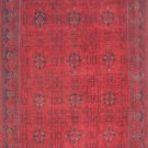 7'*10'Krim Red Hand Knotted Wool Area Rug/Carpet  710