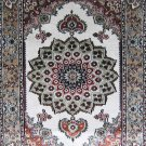 2'*3' Kerman Small Hand Knotted Artifical silk Area Rug/Carpet 6