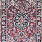 2'*3'Small Hand Knotted Turkish Oriental Artifical silk Area Rug/Carpet 3