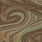 4'*6'Green Broadloom Woven Polyester Modern Area Rug/Carpet 12