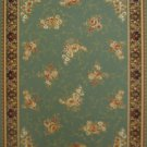 6'*9'Turquoise Broadloom Woven Polyester Persian Area Rug/Carpet 10