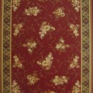 6'*9'Red Broadloom Woven Polyester Persian Area Rug/Carpet 5