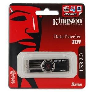 Genuine Kingston DT101 G2 16GB USB Flash Drive (Black) FREE SHIPPING