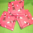 soft drink coke themed potholders set of three