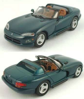 1/43 Green Dodge Viper by Eagle's Race