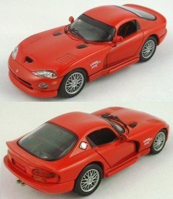 1/43 Red Dodge Viper ACR by Eagle's Race