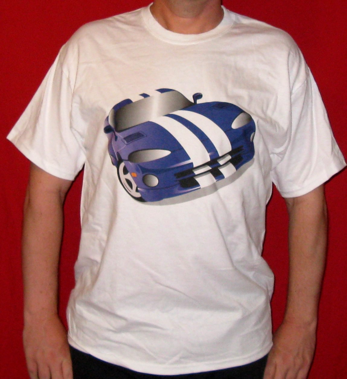 Blue Dodge Viper T-Shirt