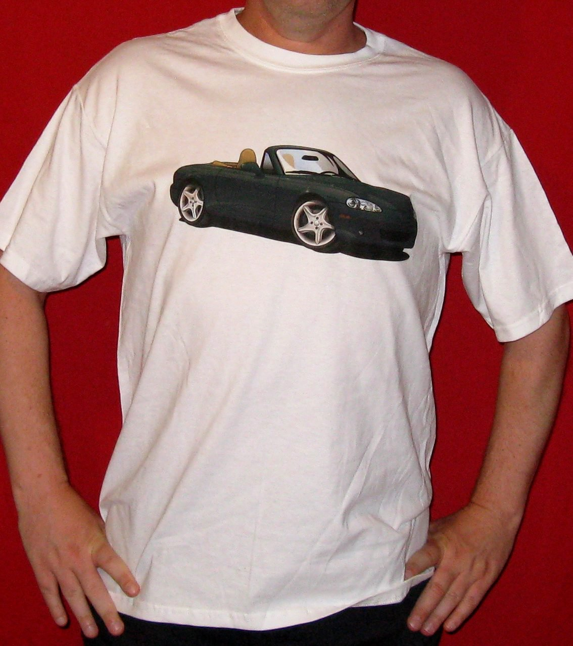 Second Generation Mazda MX-5 Miata T-Shirt - Roadster