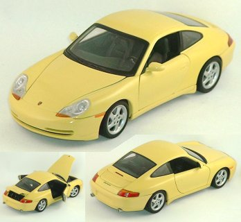 1/18 Yellow Porsche 911 / 996 Coupe by Gate