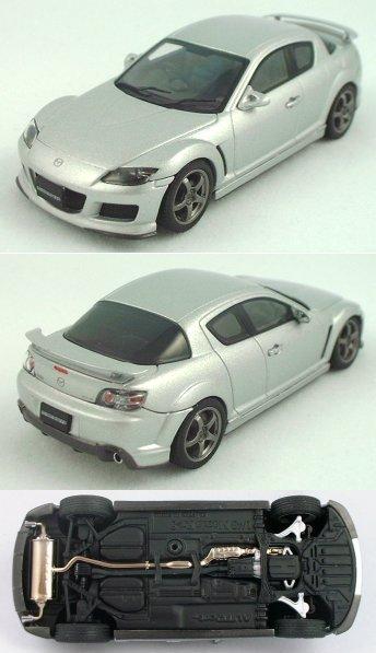1/43 Silver Mazdaspeed RX-8 by Auto Art
