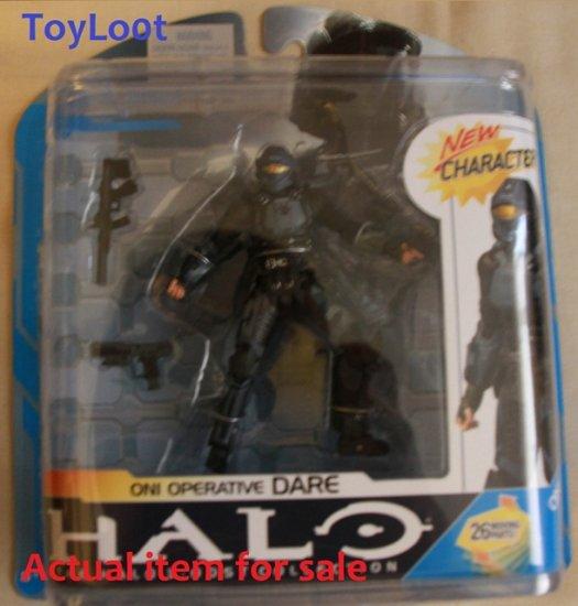 HALO SERIES 7 ONI OPERATIVE DARE, Mcfarlane toy figure