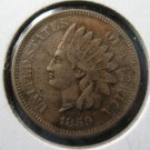 Nice Original  VF/XF 1859 Indian Head Penny Cent