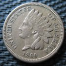 Nice Original XF 1860 Indian Head Penny Cent