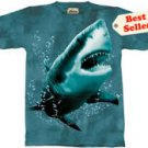 Great White Shark T-Shirt by The Mountain M,L,XL