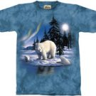 Polar Bear T-Shirt by The Mountain M,L,XL