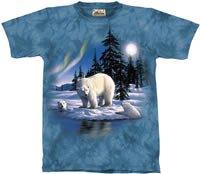 Polar Bear T-Shirt by The Mountain M,L,XL