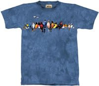 Chorus Line Songbirds T-Shirt by The Mountain M,L,XL