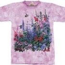 Wind Dancers Hummingbird & Foxgloves T-Shirt by The Mountain M,L,XL
