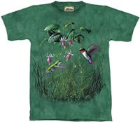 Hummingbirds T-Shirt by The Mountain M,L,XL