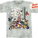 Butterflies T-Shirt by The Mountain M,L,XL