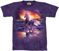Free Spirit Horse T-Shirt by The Mountain M,L,XL