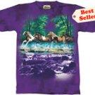 Spring Creek Run Horse T-Shirt by The Mountain 2XL, 3XL