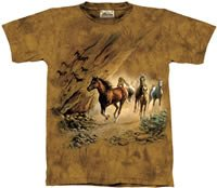 Sacred Passage Horse T-Shirt by The Mountain 2XL, 3XL