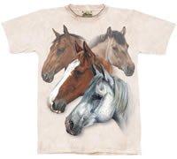 Equestrian Dream Horse T-Shirt by The Mountain 2XL 3XL