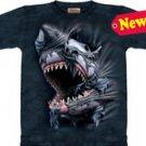 Breakthrough Shark T-Shirt by The Mountain 2XL 3XL