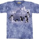 Penguin Family T-Shirt by The Mountain 2XL 3XL