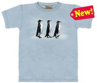 Abby Road Penguin T-Shirt by The Mountain 2XL 3XL