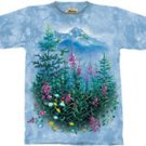 Wildflowers & Hummingbirds T-Shirt by The Mountain 2XL 3XL