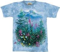 Wildflowers & Hummingbirds T-Shirt by The Mountain 2XL 3XL