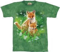 Fox Cubs T-Shirt by The Mountain 2XL 3XL